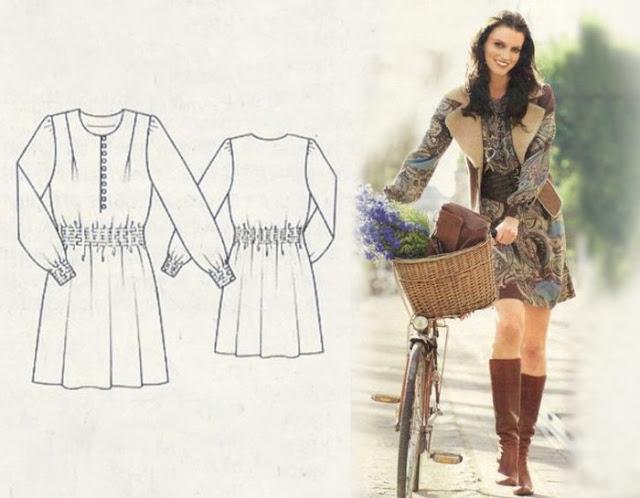 Моделирование простого, но очень популярного платья