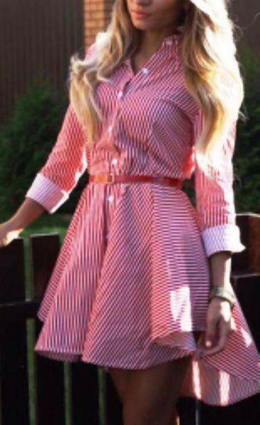 Самое модное платье сезона весна-лето 2017 -- платье рубашка