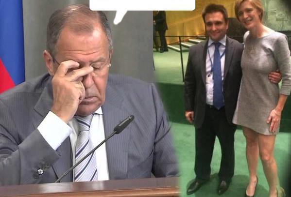 Лавров на встрече с Климкиным заменил свою коронную фразу улыбкой
