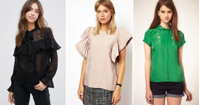 Красивые блузки – 52 фото самых красивых и модных блузок на любой вкус