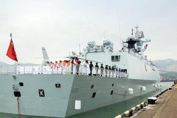 В случае удара по Сирии: Китай приказал кораблям ВМФ в Средиземном море следовать в Тартус
