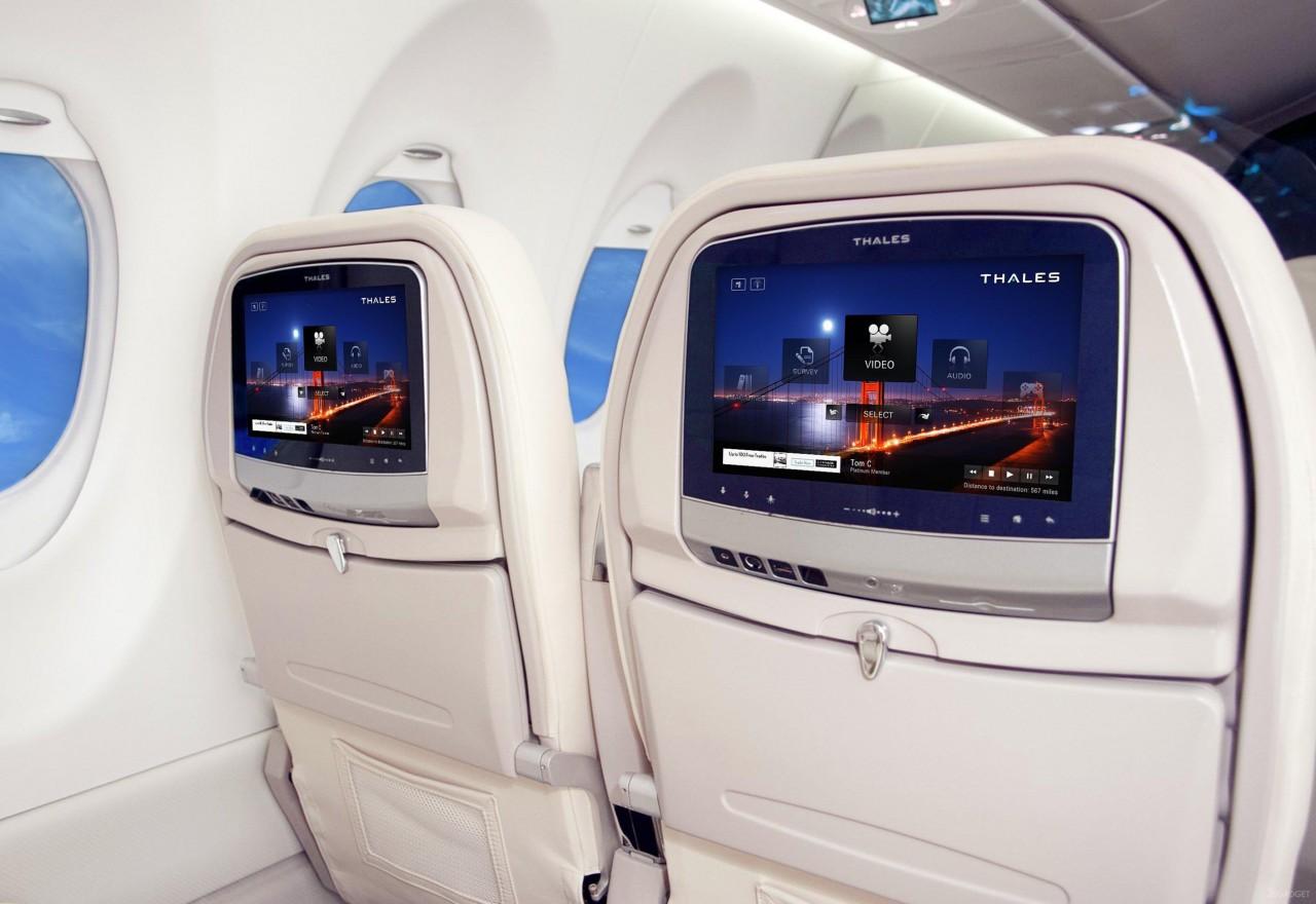 Хакеры могут захватить самолет через взлом развлекательной системы