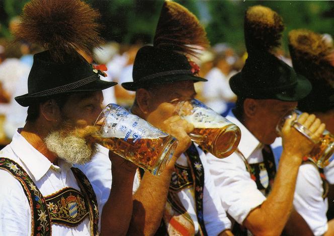 Во Франции признали, что русские пьют меньше европейцев