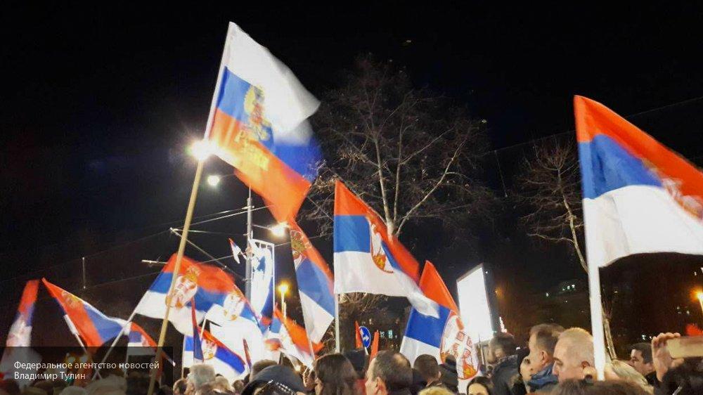 Сербский спецназ начал освоб…