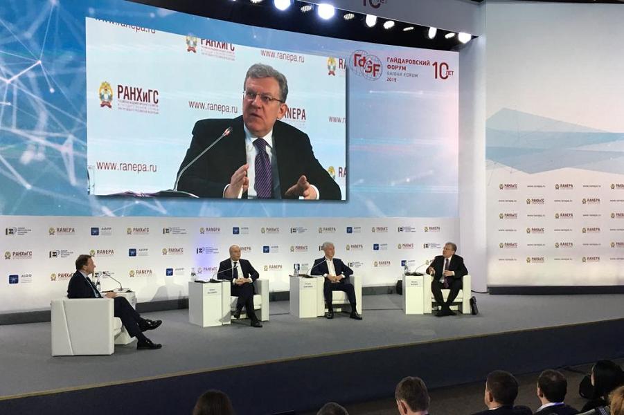 Кудрин критикует правительство Медведева. Или копает под правительство Медведева?