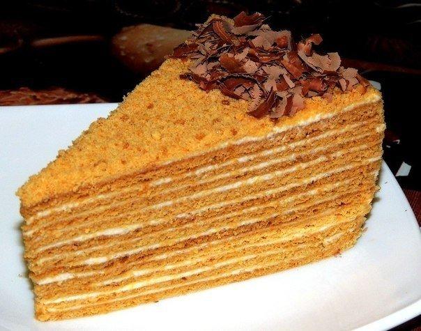 Любимый тортик детства — «Медовик»