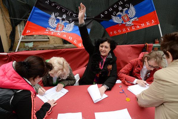 Донбасс отмечает третью годовщину исторического референдума: Верим, что станем Россией