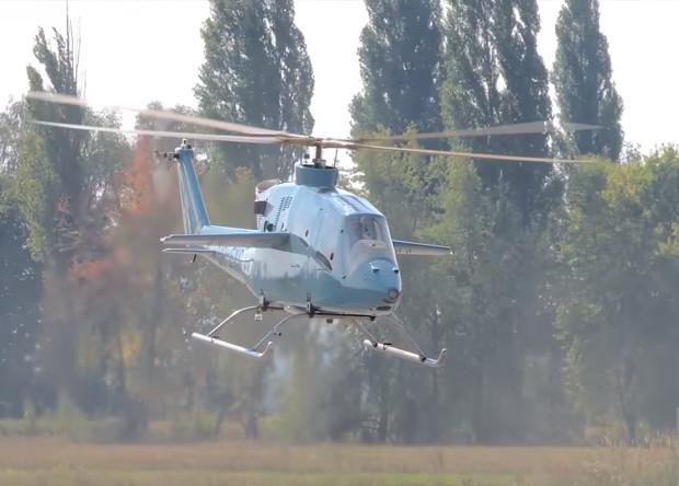 Украинцы испытали высокоскоростной легкий вертолет