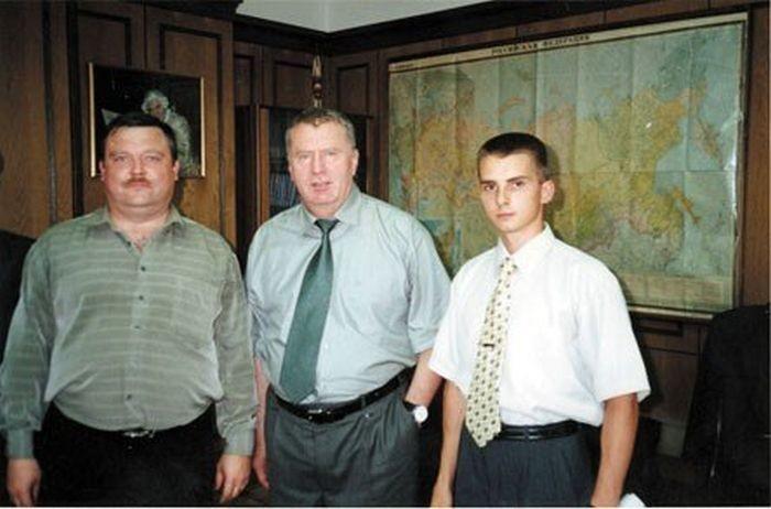 Михаил Круг и Владимир Жириновский, 1990–е годы, Россия было, история, фото