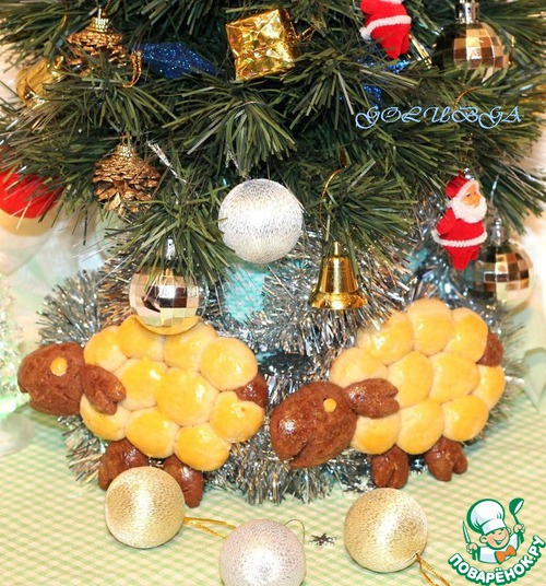 Печенье «Новогодние овечки»