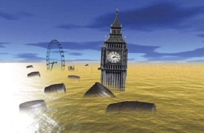 «Если б было море пива...»: Пивное цунами в центре Лондона