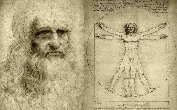 """15 малоизвестных фактов о """"Витрувианском человеке"""" Леонардо да Винчи"""