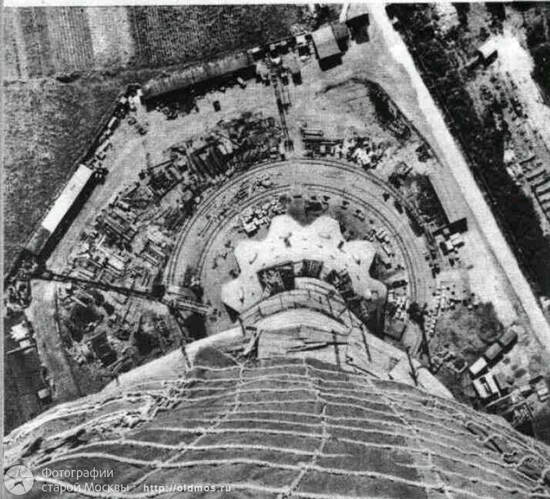 18 кадров о том, как строили Останкинскую башню