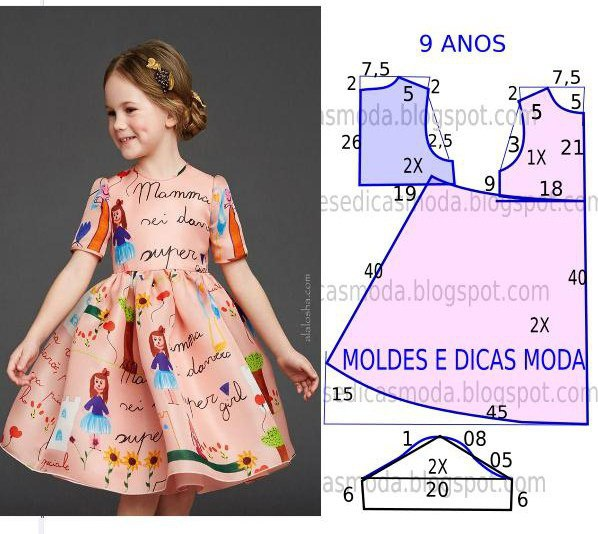 Выходные платья выкройка