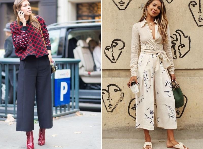 женские брюки укороченные