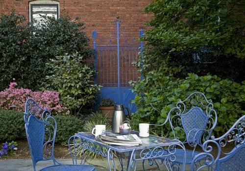 дизайн частного двора фото