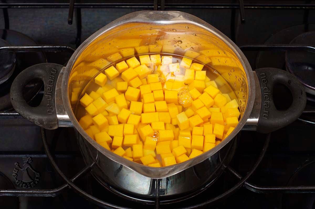 Овсяная каша с тыквой (Oatmeal with pumpkin)
