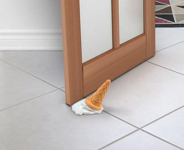 Забавные держатели для двери