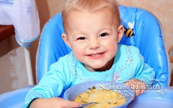 Рецепты детских супчиков!