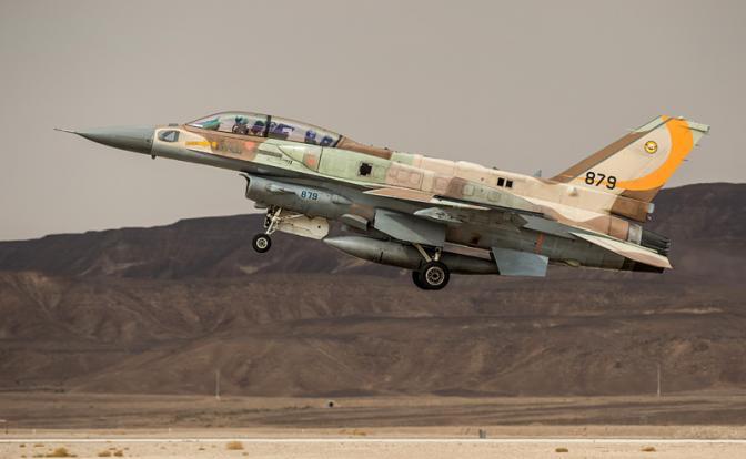 ВВС Израиля громят русские «…