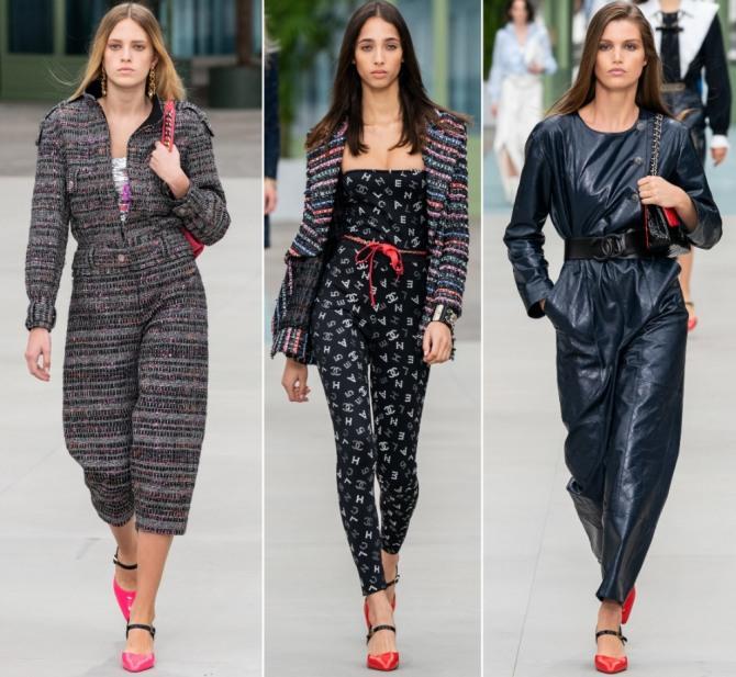 комбинезоны 2020 года от модного дома Шанель