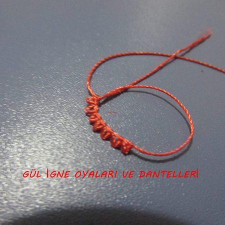Игольное турецкое кружево часть 2,мастер-классы
