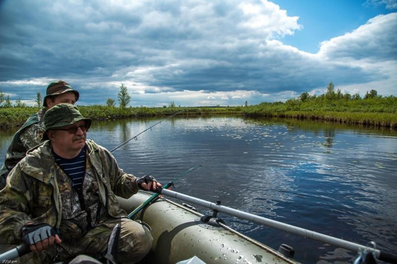 летняя рыбалка мурманск
