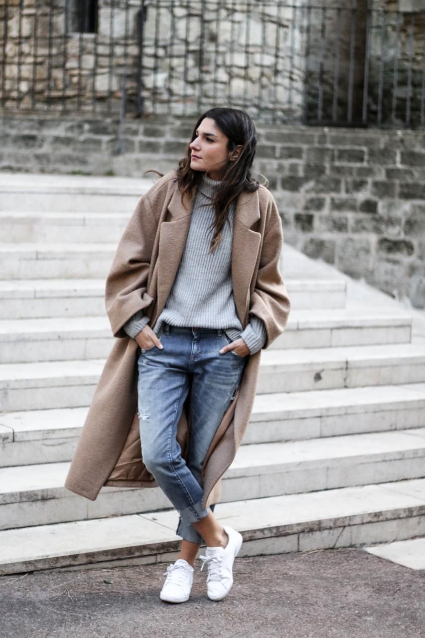 Пальто с воротником: актуальные тенденции зимней моды 2018 года