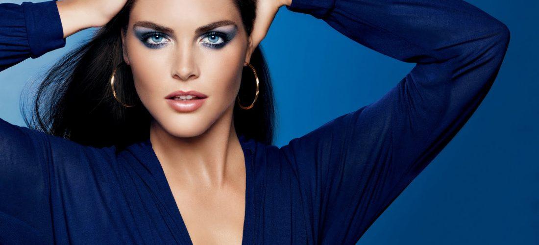 Синие тени снова в моде