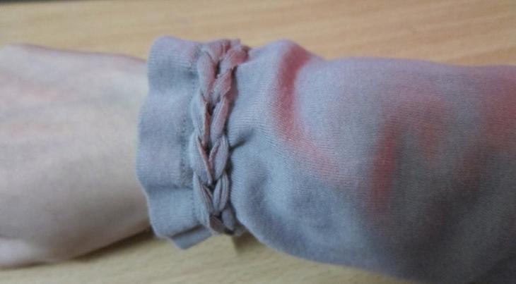 Как красиво укоротить рукав на несколько сантиметров