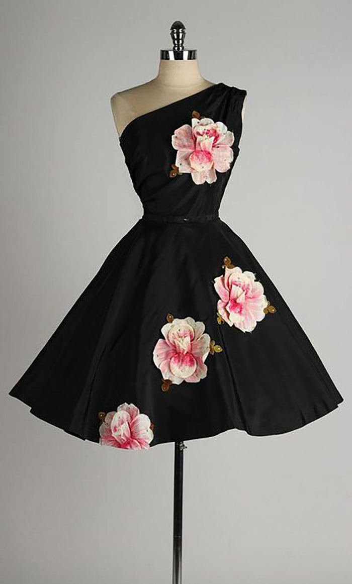 пышные платья в стиле ретро