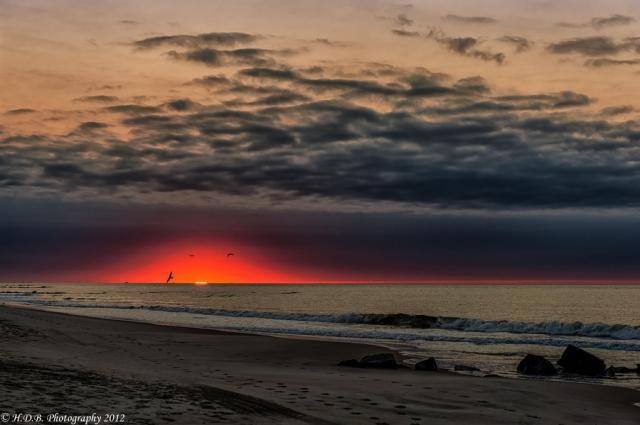 Рассветы-закаты в фотографиях Гарольда Бигана (Harold Begun)