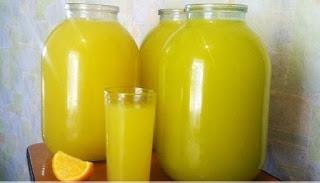 9 литров вкуснейшего напитка из 4 апельсинов