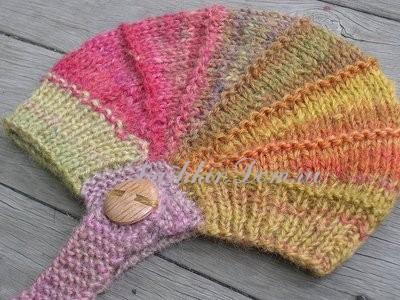 вяжем шапочки для <em>круговую</em> детей