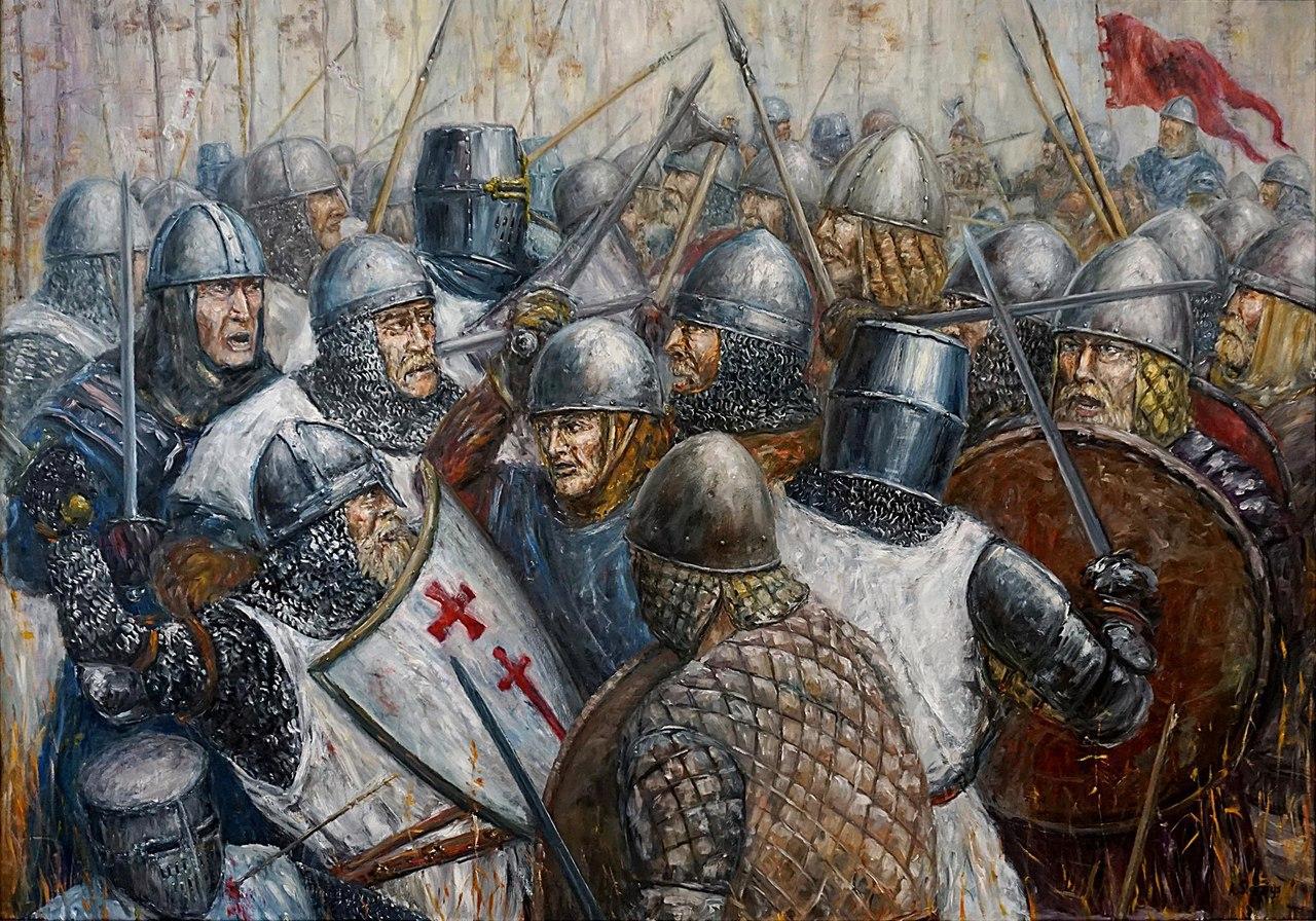 Как жемайты и земгалы уничтожили рыцарский орден