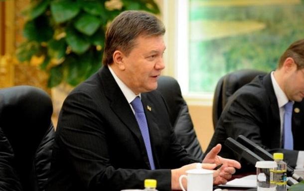 Янукович рассказал о скандальном письме к Путину