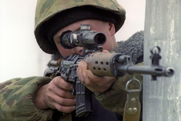 Российский снайпер побил рекорд меткости