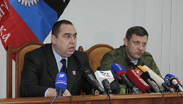 С какой целью лидеры ДНР и ЛНР приехали в Крым