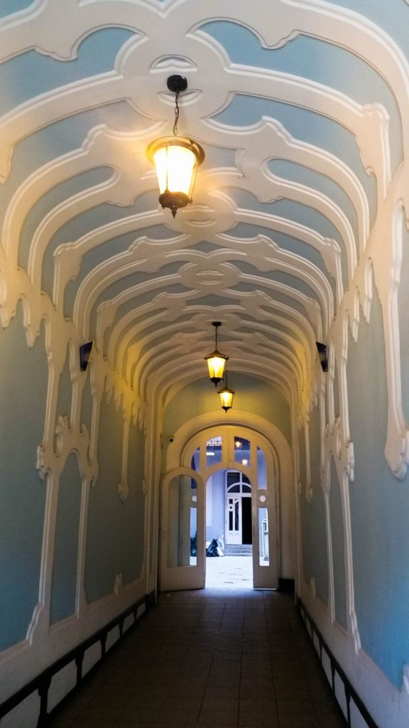 Внутри отеля Baross, Будапешт, Венгрия