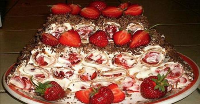 Непревзойденный ягодный торт без выпечки. Не упусти возможность приготовить этот шедевр