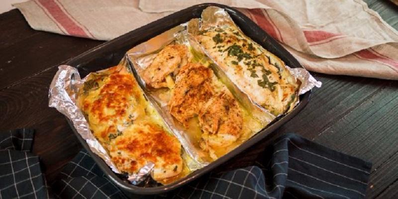 Блюда из курицы в духовке. Три сразу!