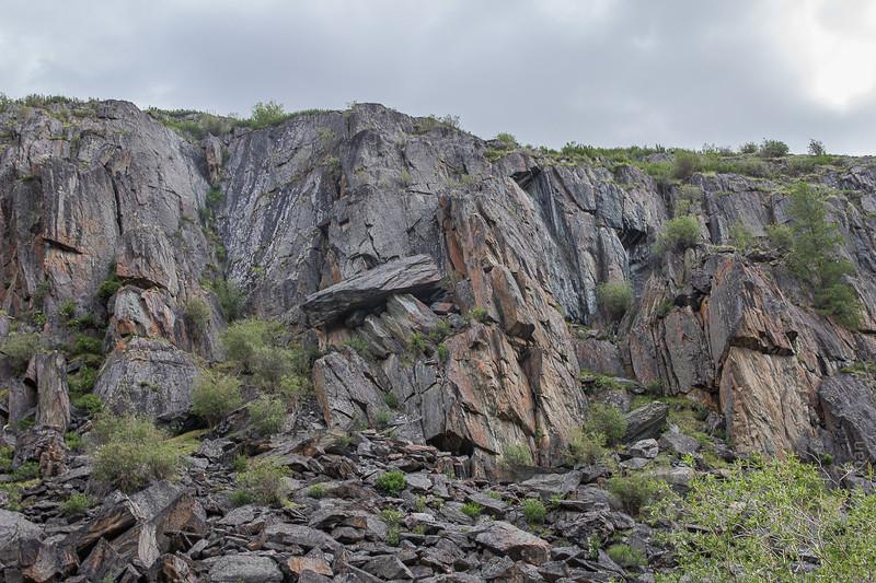 Скалы обступают алтай, путешествия, россия, укок, фото