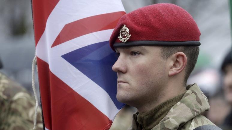Эстония предупреждает — в драчливости британских военных следует винить Россию