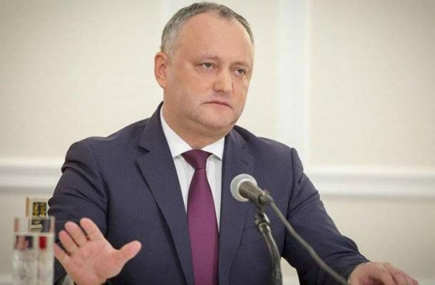 Президент Молдавии посоветовал демократам неиграть смнением избирателей