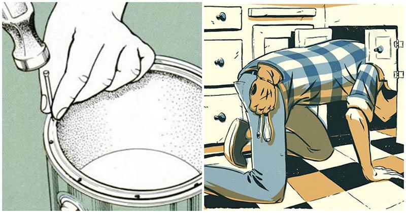 22 хитрости для дома, которые выручат вас в бытовых проблемах