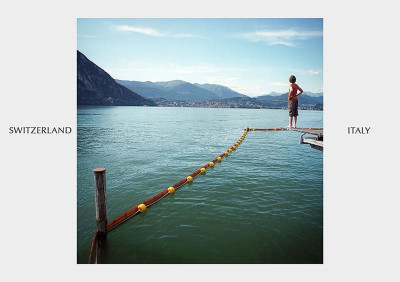 Швейцария - Италия граница, страна