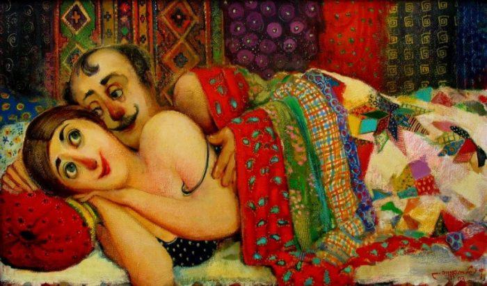 художник Ладо Тевдорадзе - 07