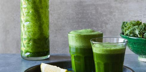 Рецепт идеального зеленого коктейля