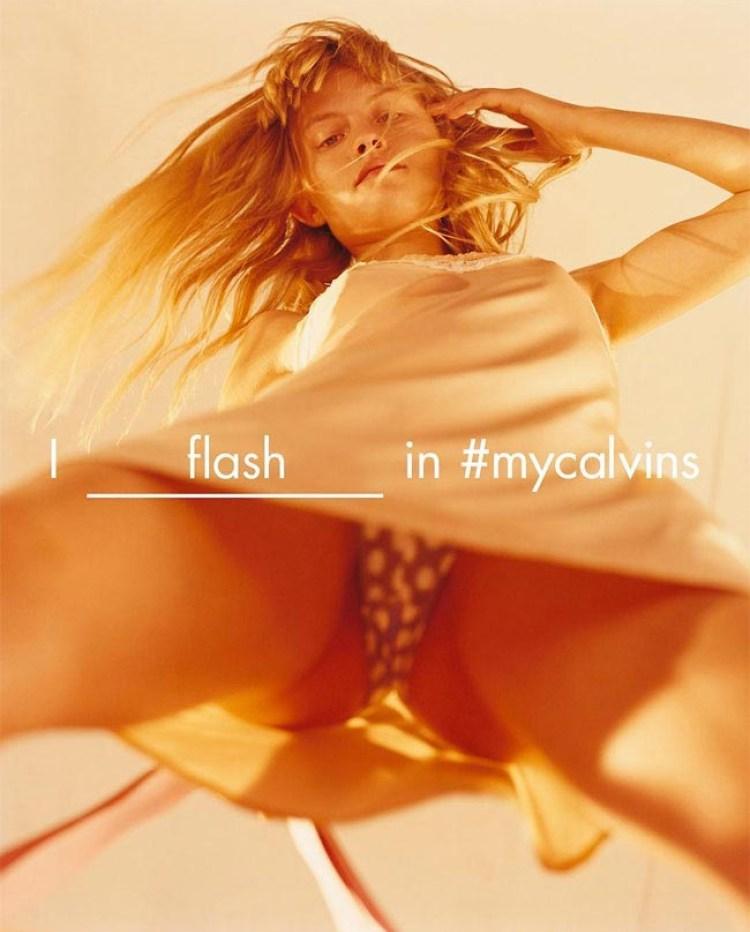 Провокация от Calvin Klein — фотографии девушек в нижнем белье в крайне вызывающих позах