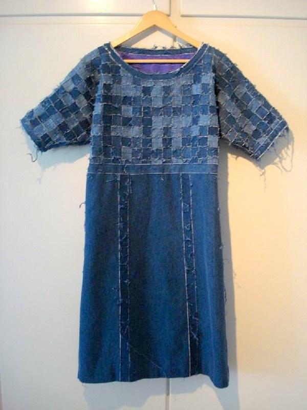 Еще одно плетеное платье